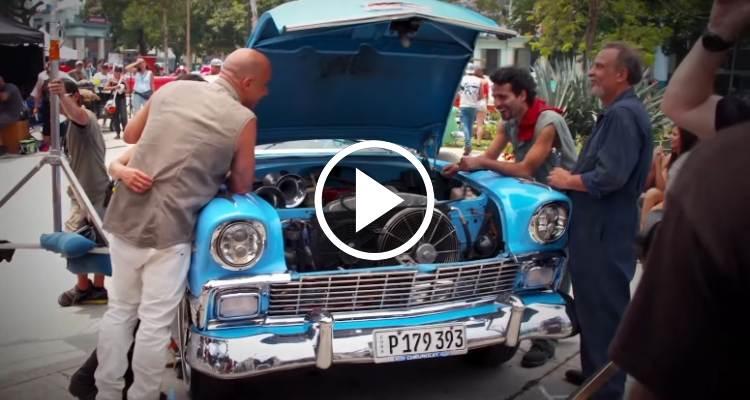 """Fast & Furious 8 y los """"almendrones"""" de Cuba"""