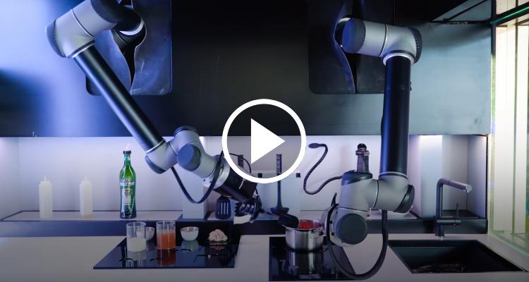 Moley, el robot de cocina que llevará el sazón de los grandes chefs directamente hasta tu casa