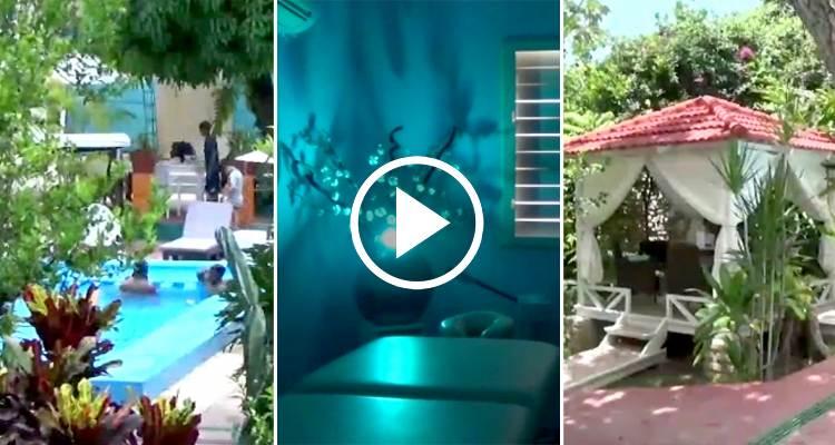 Masajes piscina y gimnasio abren en santiago de cuba un for Piscina y gimnasio