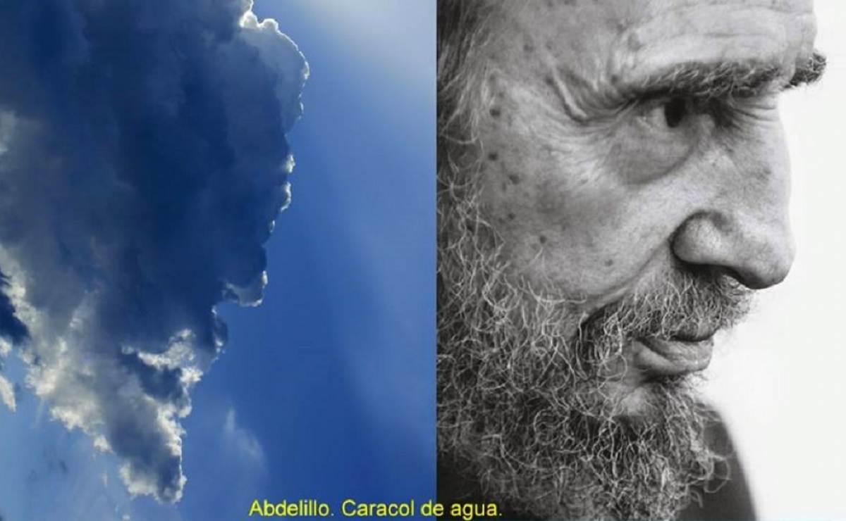 Fotógrafo asegura que Fidel Castro se aparece en el cielo en forma de nube