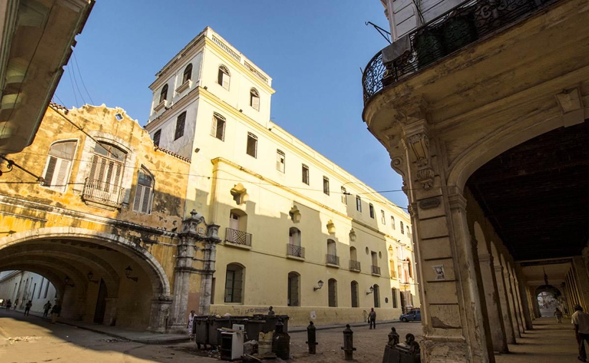 ¿Conoces calles abovedadas en La Habana?