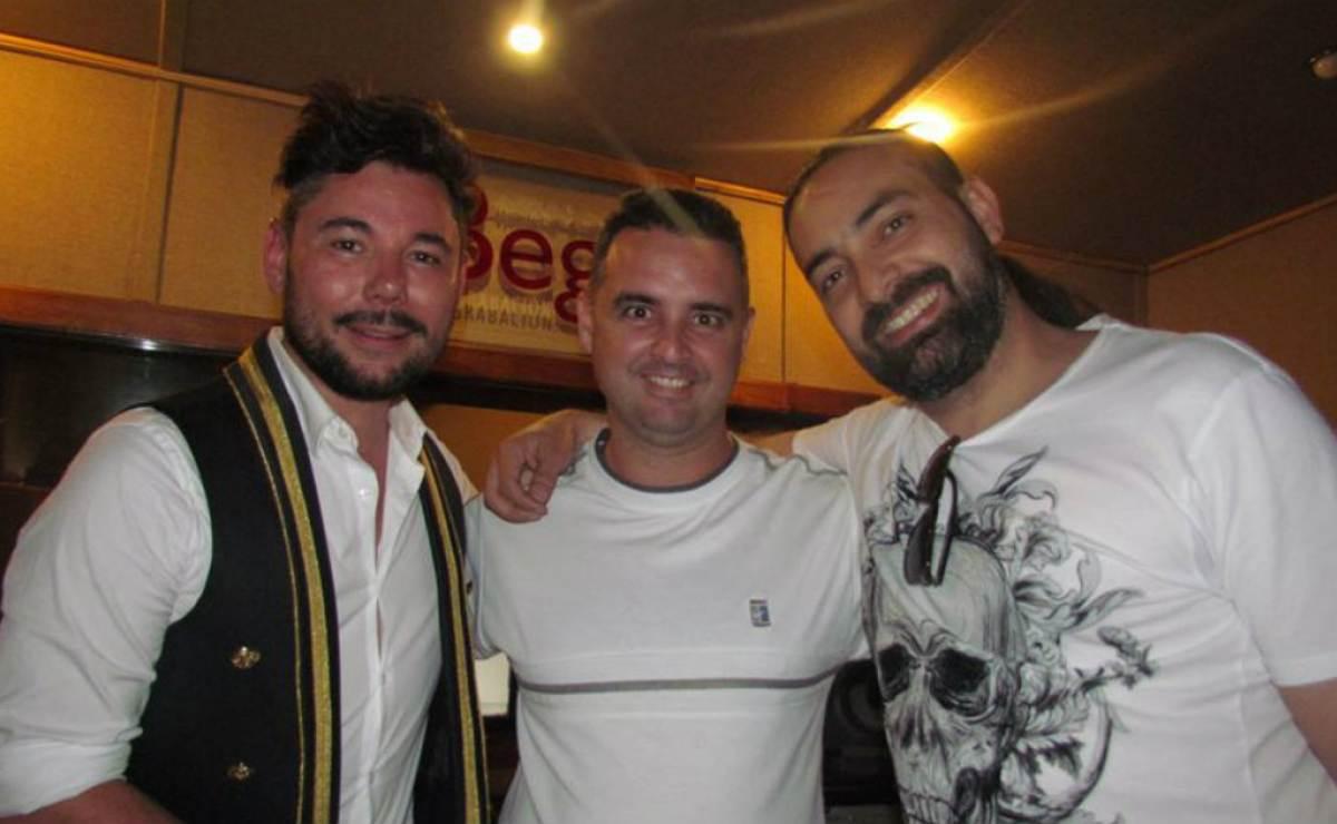 El famoso cantaor español Miguel Poveda pasó vacaciones en Cuba y grabó con Alain Pérez