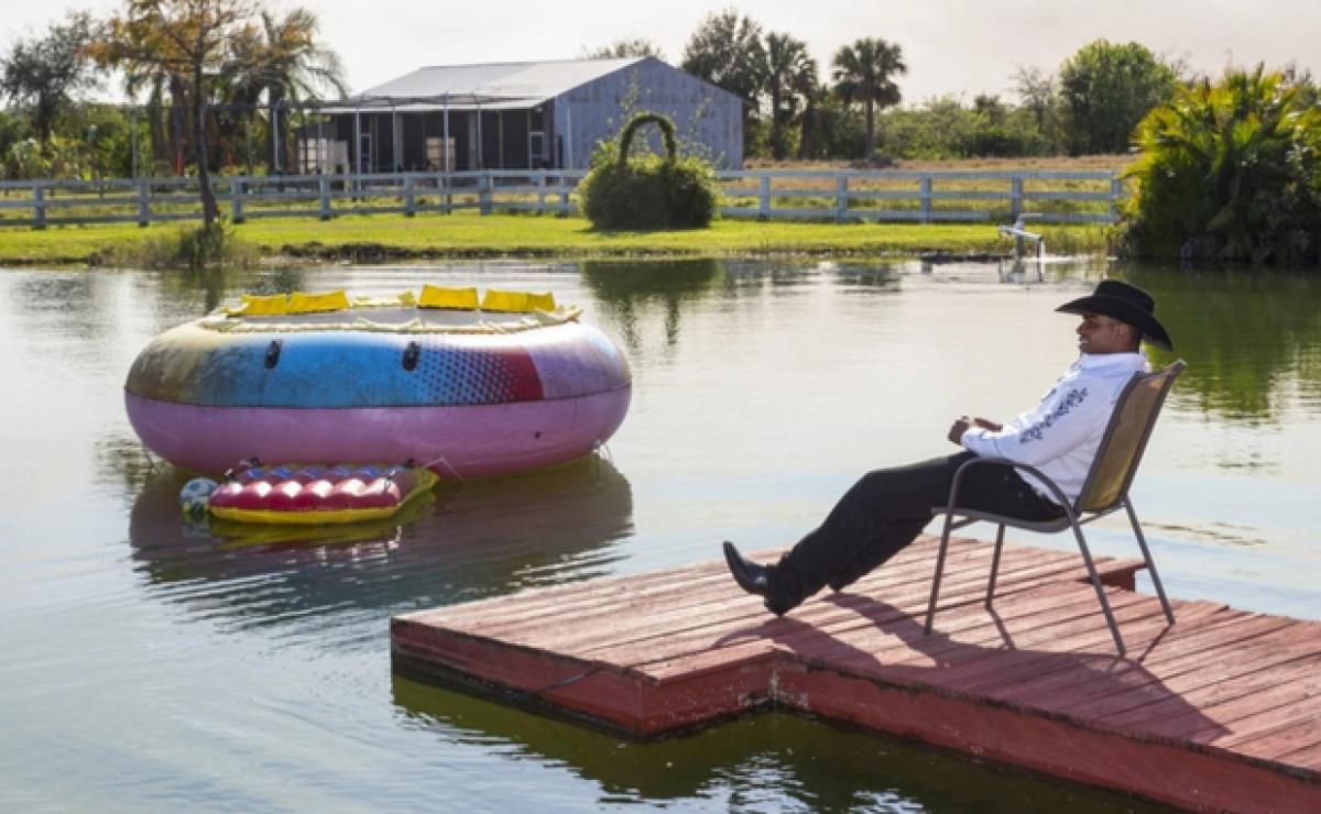 La millonaria finca de Yoenis Céspedes en Vero Beach, Florida