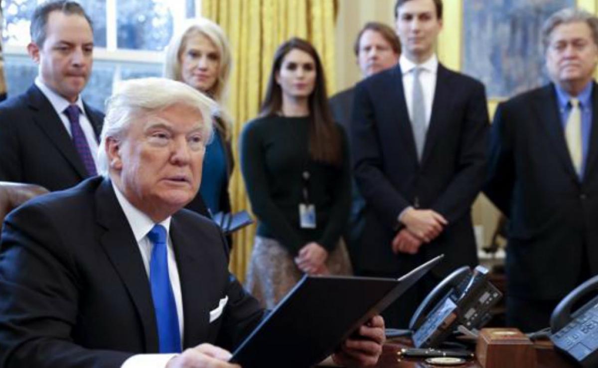 Trump autoriza la construcción de dos polémicos oleoductos que vetó Obama