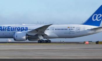 Air Europa lleva tres años sobrepasando el 90 % de ocupación en ruta a la Habana