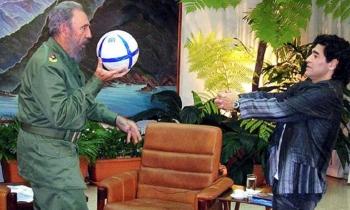 "Maradona viajó a Cuba ""en funciones de trabajo"""