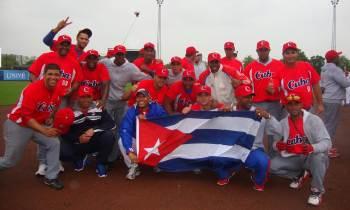 Selección cubana de béisbol comienza en Rotterdam su andadura hacia Tokio 2020