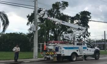 Demandan a la compañía eléctrica de Florida por los apagones sufridos tras Irma
