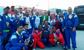 Gana Cuba medalla de plata en hockey sobre piso de las Olimpiadas Especiales