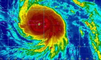 Aviso de ciclón tropical No.8: El Huracán María se encuentra muy próximo a Puerto Rico