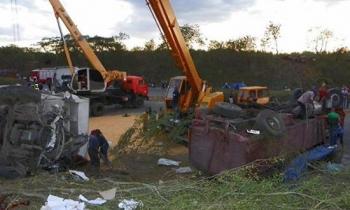 Casi 30 personas continúan ingresadas luego de accidente masivo en Santiago de Cuba