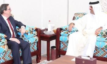 Emir de Qatar reitera compromiso de cooperación con Cuba