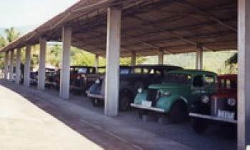 Una singular visita en Santiago de Cuba, al Museo Nacional del Transporte, en el Parque Nacional Baconao.