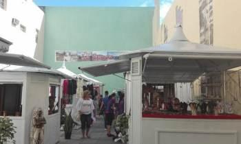 Cambian de sitio los quioscos de artesanía de los cuentapropistas de Matanzas