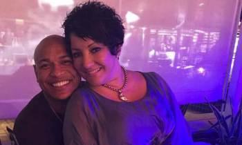 Tania Pantoja de visita en Miami junto a Alexander Delgado
