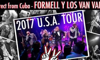 Los Van Van anuncian su gira por Estados Unidos junto a Vanessa Formell
