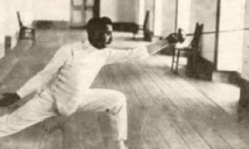 El primer latinoamericano medallista olímpico: el cubano Ramón Fonst