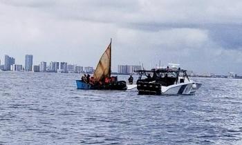 Confirman que los balseros interceptados en Dania Beach son cubanos