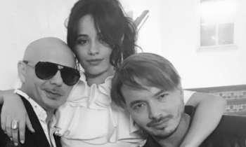 Pitbull, J Balvin y Camila Cabello filman