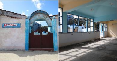 El centro se encuentra completamente deshabilitado, sus puertas ventanas han sido removidas, y las instalaciones de elec