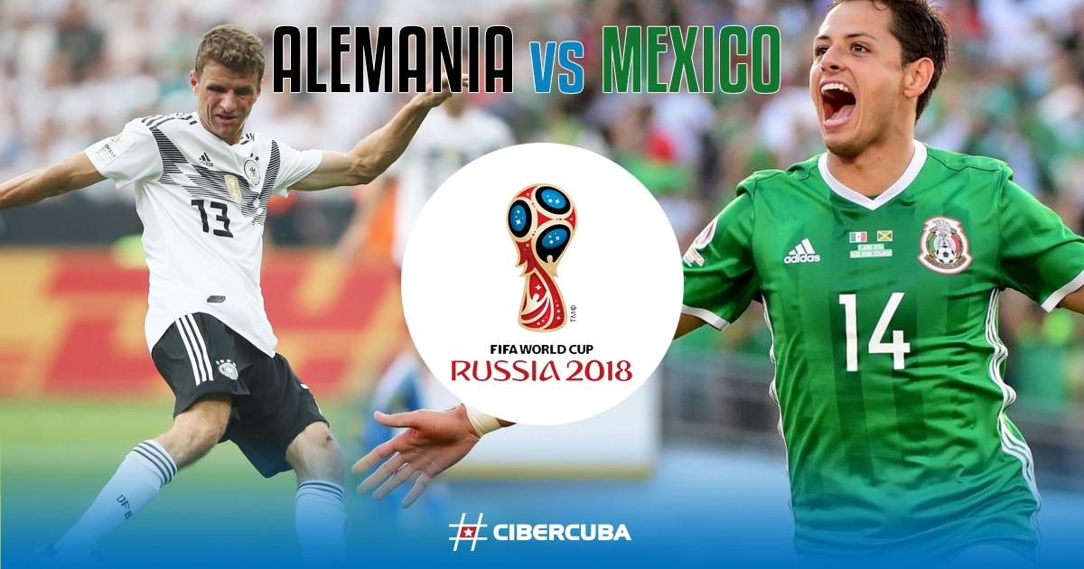Final: Alemania - México en directo (0-1)