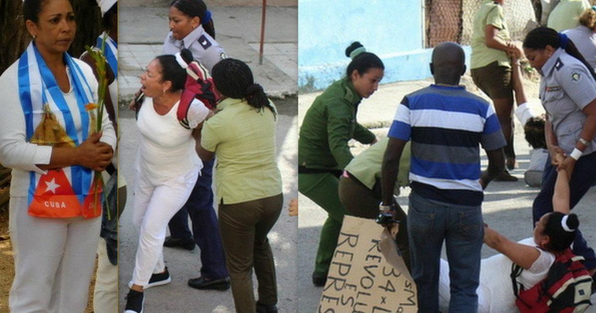 Damas de Blanco aseguran que presas comunes las acosan en la cárcel por orden de la Seguridad