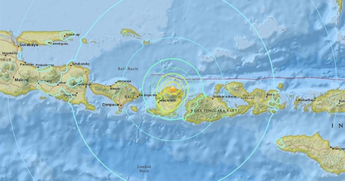 Image result for Otro sismo 6.0 grados magnitud sacude costas de Indonesia