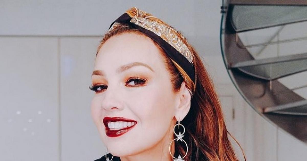 d3a9e3967 Critican a Thalía en Instagram por exceso de maquillaje: la llaman payasa