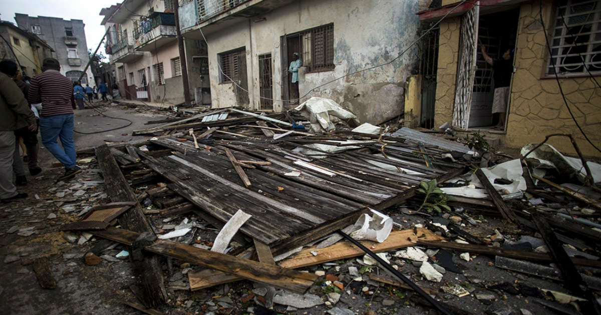 Zahl der Todesopfer des Havanna-Tornados auf sechs gestiegen | Foto: Cibercuba.com © Cubadebate / Irene Pérez | Fotos sind in der Regel urheberrechtlich geschützt