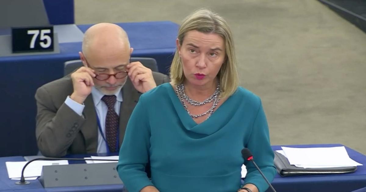 Captura de pantalla de Comisión Europea