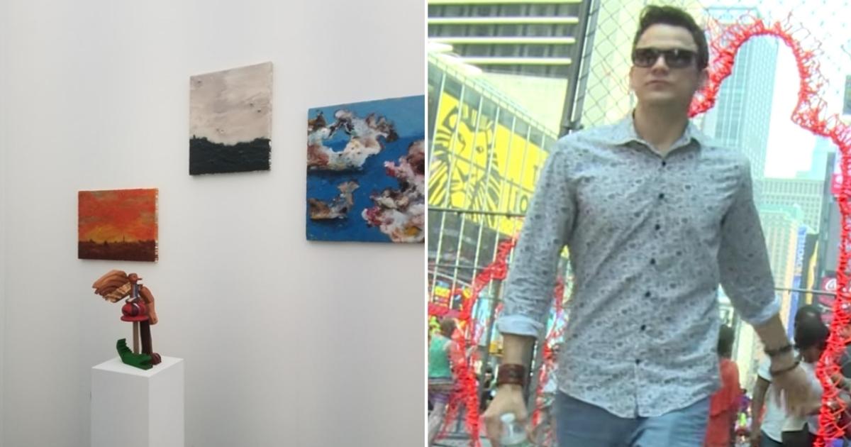 Collage con Daniel Domínguez y YouTube
