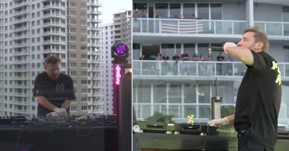 Coronavirus: Así fue el concierto en vivo de David Guetta por ...