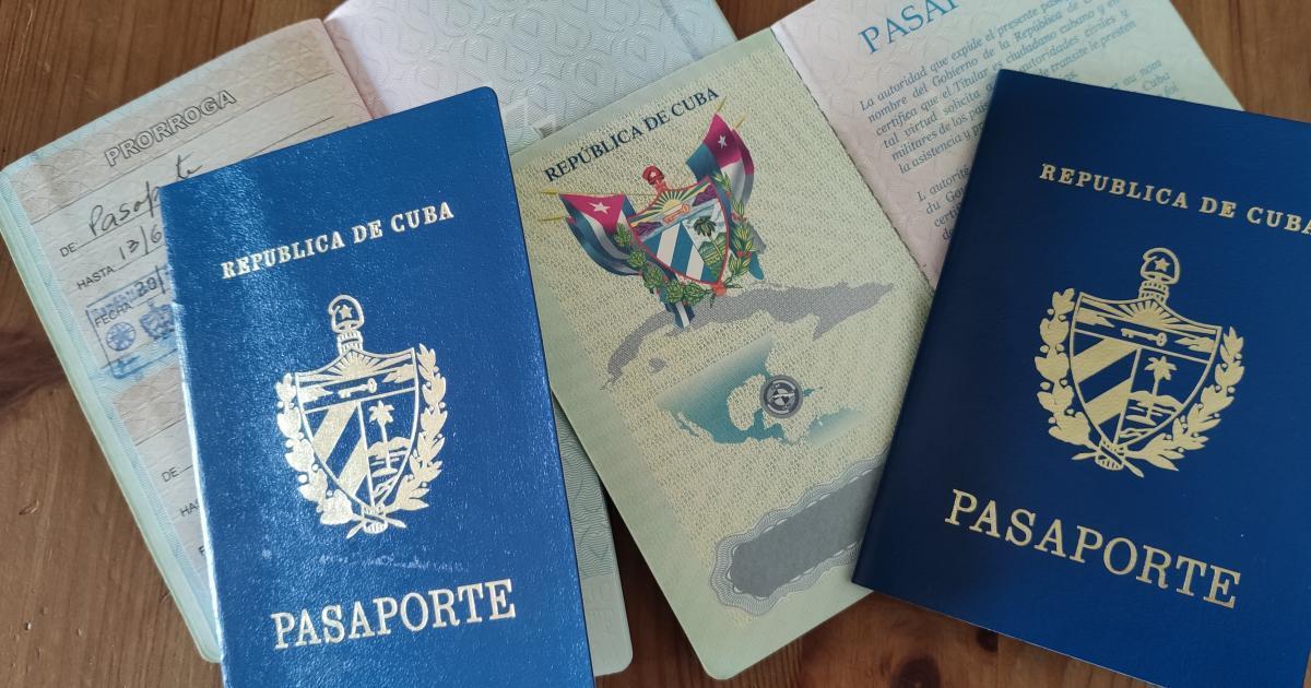 Kubanische Reisepässe   Bildquelle: https://t1p.de/o71l © Cibercuba   Bilder sind in der Regel urheberrechtlich geschützt