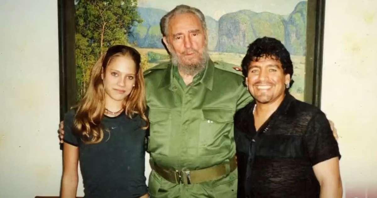 Exnovia cubana de Maradona revela detalles de su relación con Fidel Castro