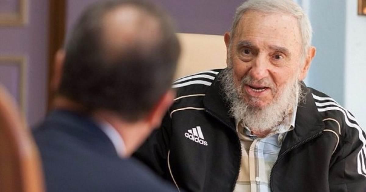Caliza Teoría de la relatividad Ambiente  Ya sabemos por qué Fidel Castro siempre usa Adidas