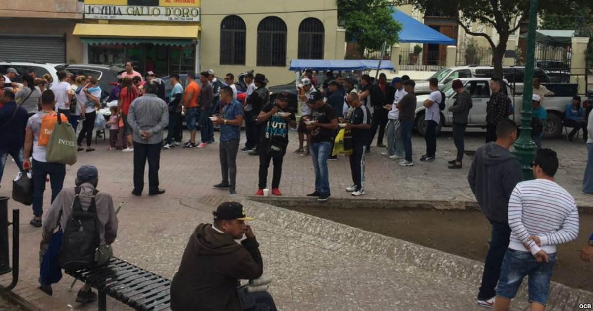 Apenas quedan unos 50 cubanos en la frontera de Nuevo Laredo