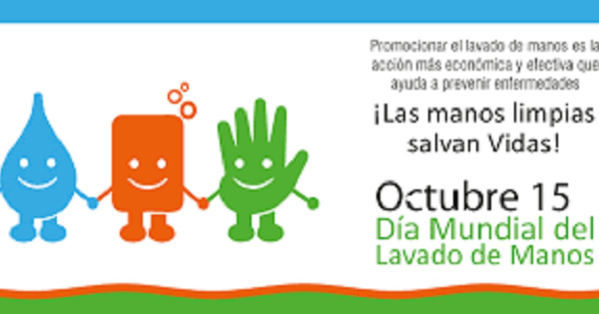 D a mundial del lavado de manos for Lavado de manos en la cocina