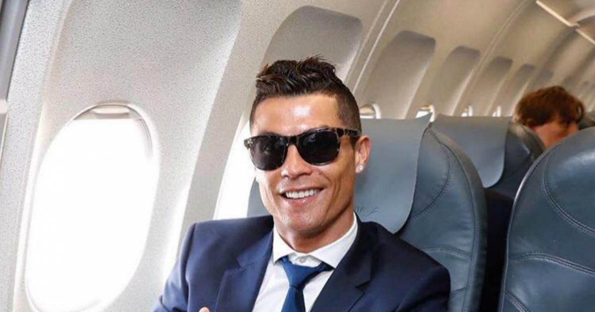 e0e575620c Cristiano Ronaldo y su hijo bailan