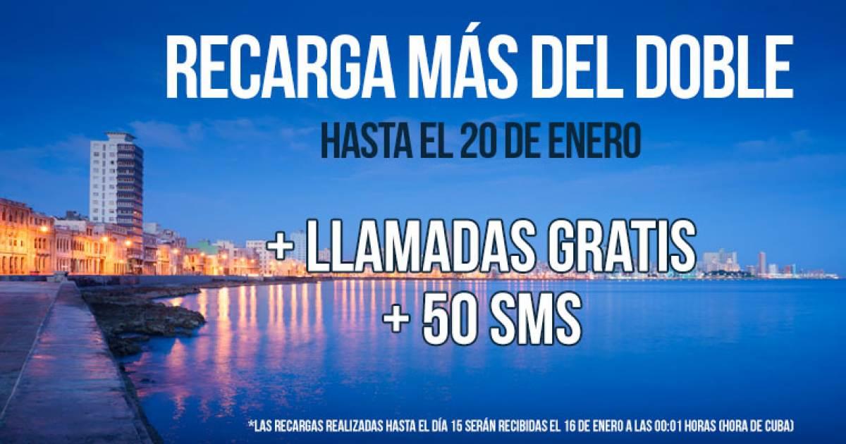 Nuevo año y nueva oferta de recargas a líneas CubaCel