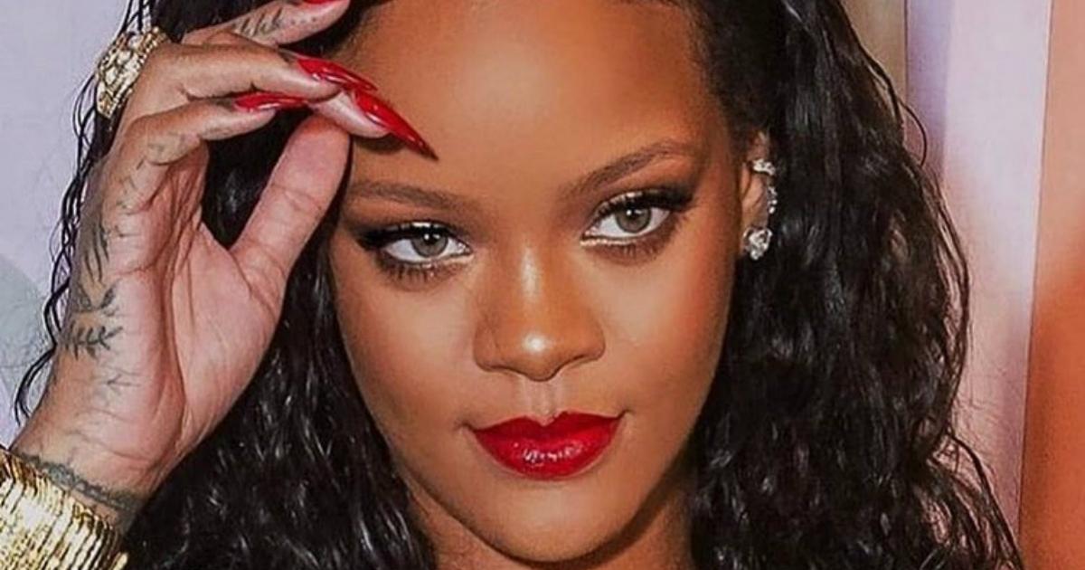 Irreconocible La Foto De Rihanna De Pequeña Que Te Enternecerá